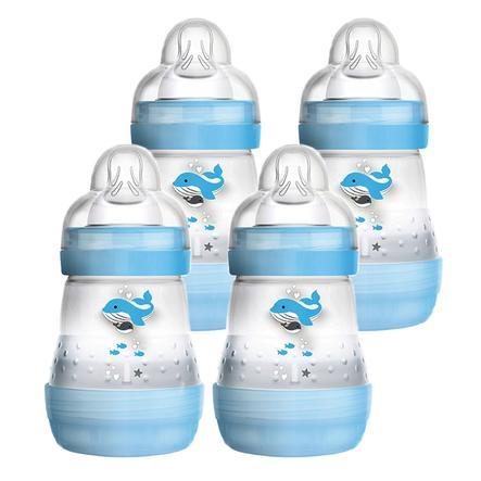 MAM Babyflasche Easy Start Anti-Colic 160ml boy, 4 Stück