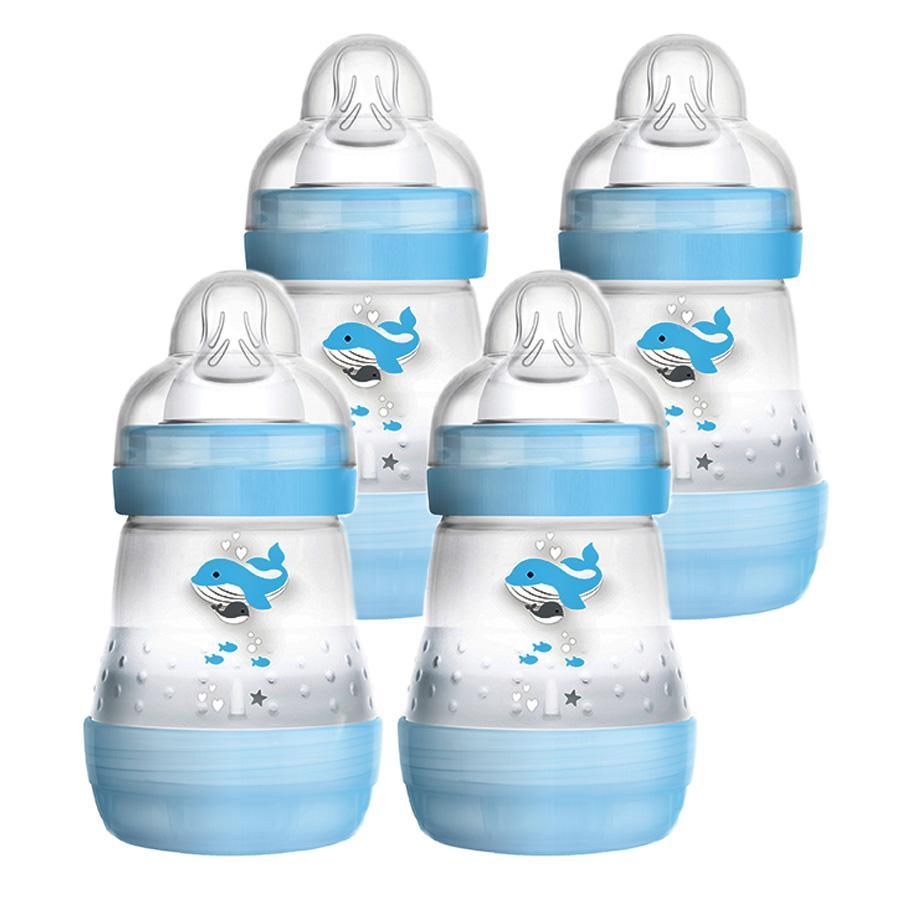 MAM Babyfles Easy Start Anti-Colic 160ml jongen, 4 stuks