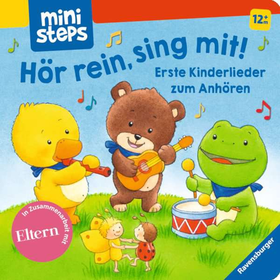 Ravensburger ministeps® Hör rein, sing mit!