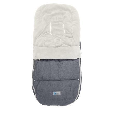 Altabebe wintervoetbeschermer Alpin voor kinderwagen Bugaboo Lichtgrijs - White wassen