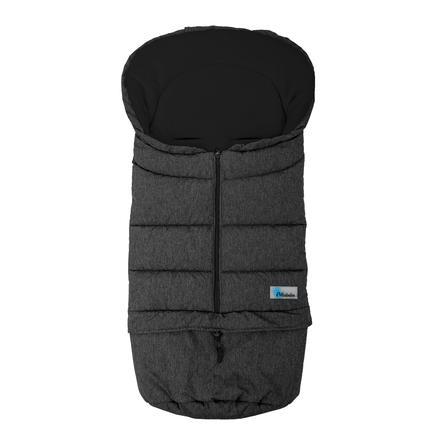 Altabebe wintervoetbeschermer 2 in 1 Alpin Donkergrijs-zwart