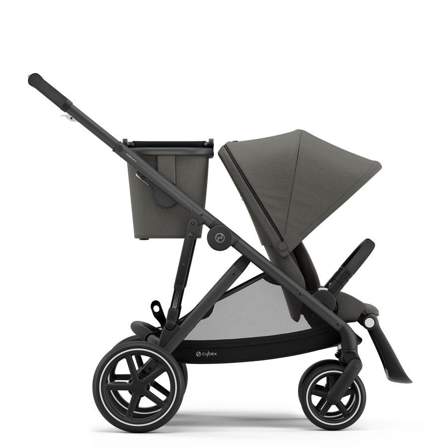 cybex GOLD Kinderwagen Gazelle S Black Soho Grey