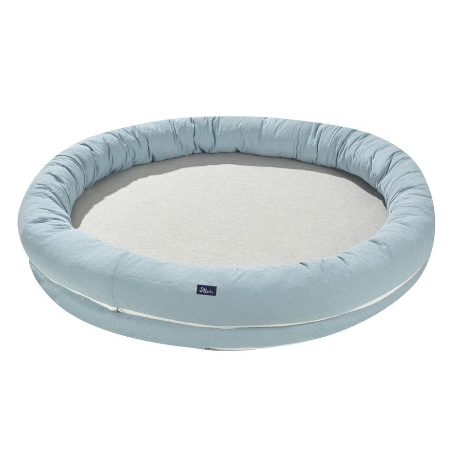 Alvi® Slumber Nest XL spesiell stoffdiamant Aqua