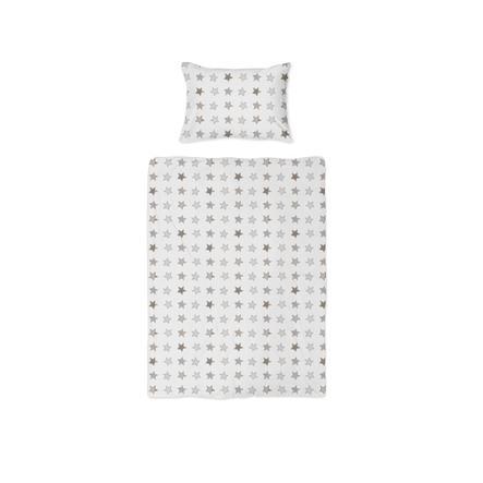 joyfill ložní prádlo rustikální hvězdy béžové 100x135 cm