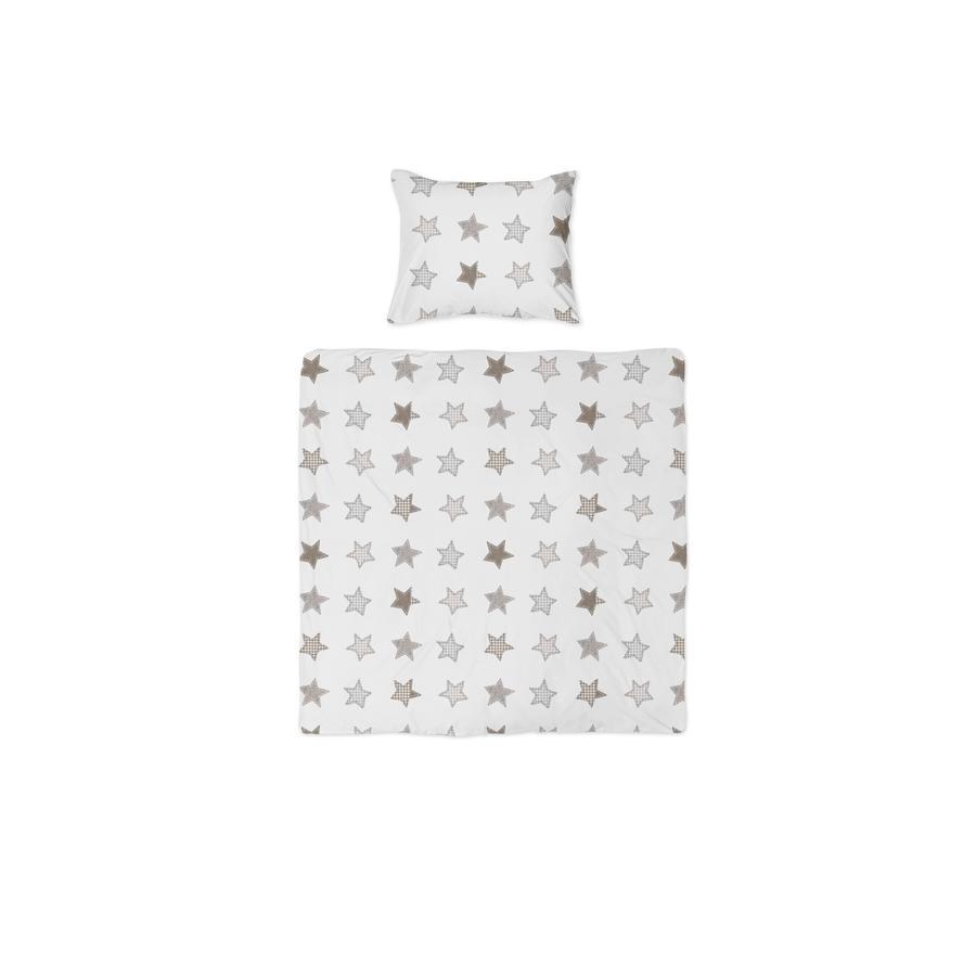 joyfill Sengelinned Rustik Stars beige 80 x 80 cm