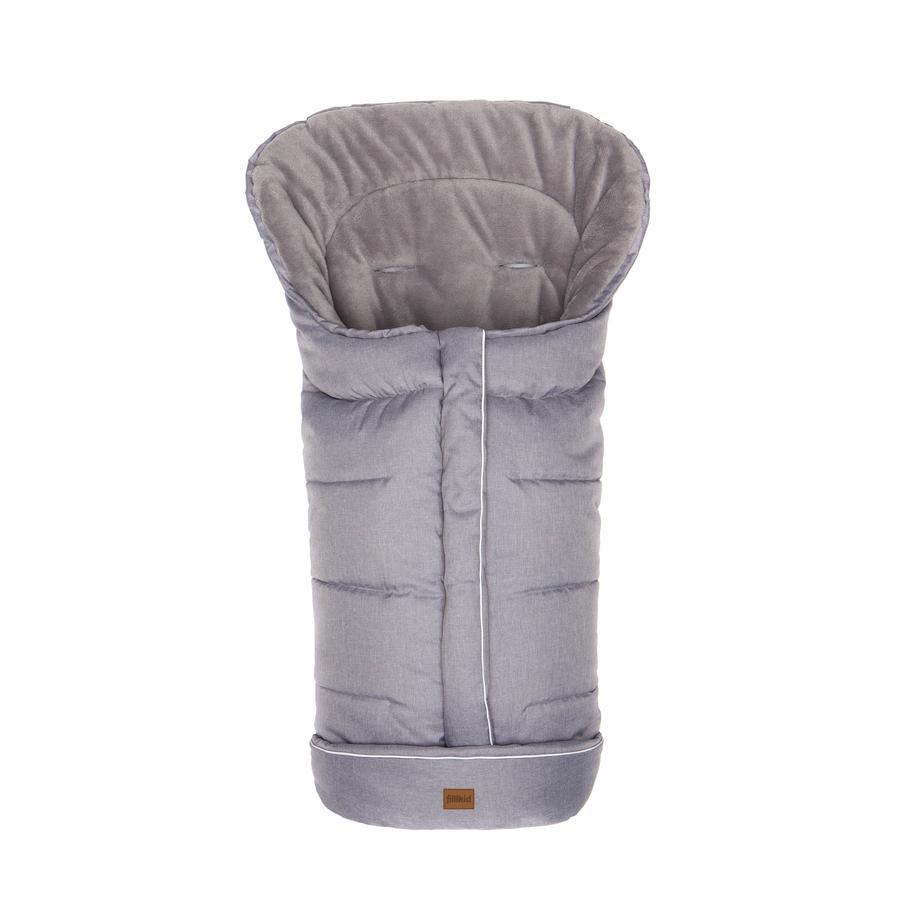 fillikid Kørepose K2 Soft Pongee Lysegrå Melange