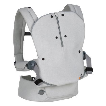 BeSafe Porte bébé ventral et dorsal Haven Stone Premium Leaf gris