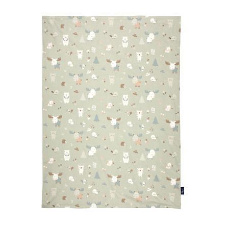 Alvi ® baby filt jersey baby Forest 75 x 100 cm
