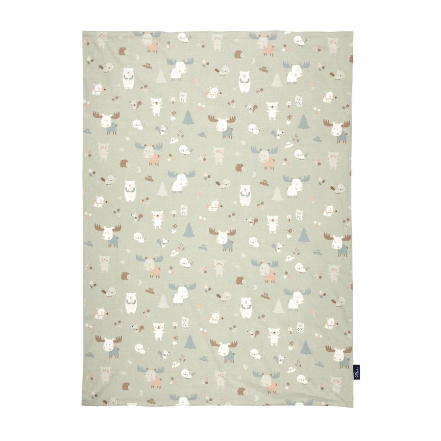 Alvi ® Baby tæppe Jersey Baby Forest 75 x 100 cm