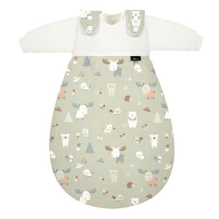 Alvi® Baby-Mäxchen® Original Śpiworek 3-częściowy Baby Forest