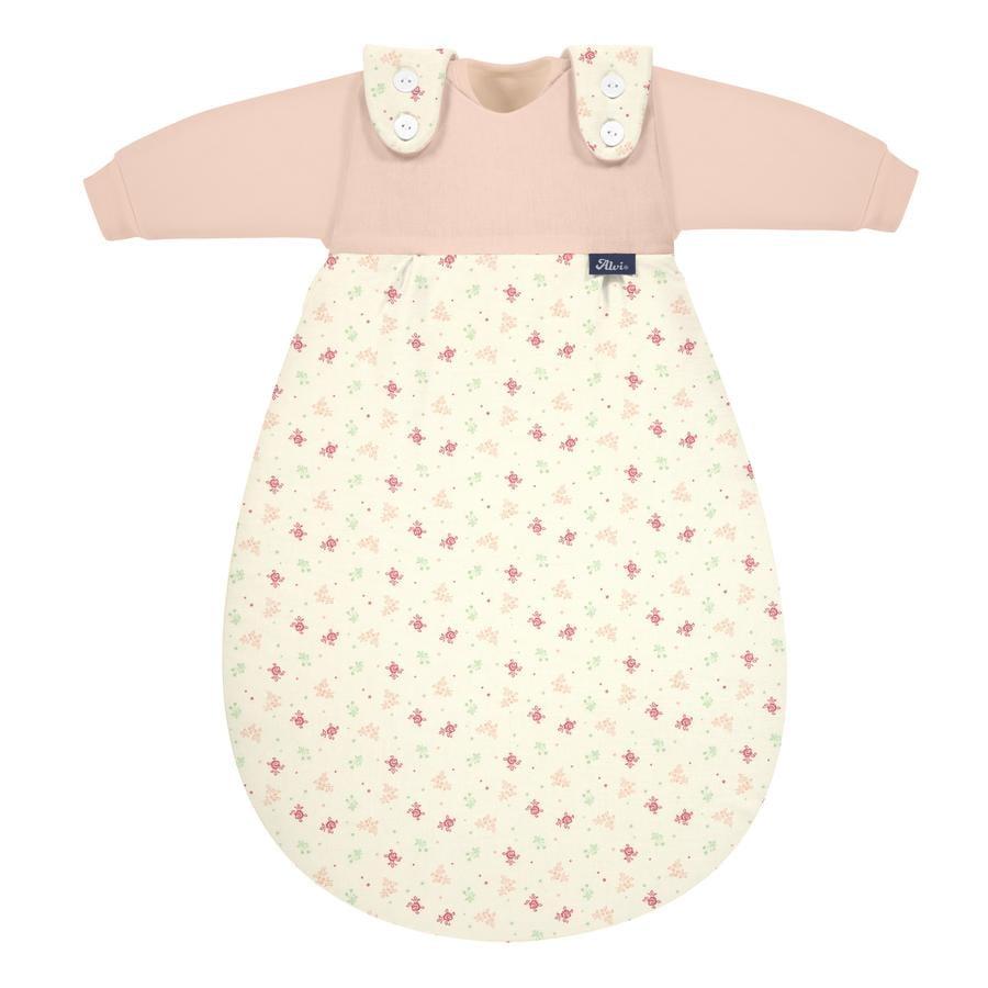 Alvi ® Baby-Mäxchen® 3-osainen luomupuuvillainen unipussisetti