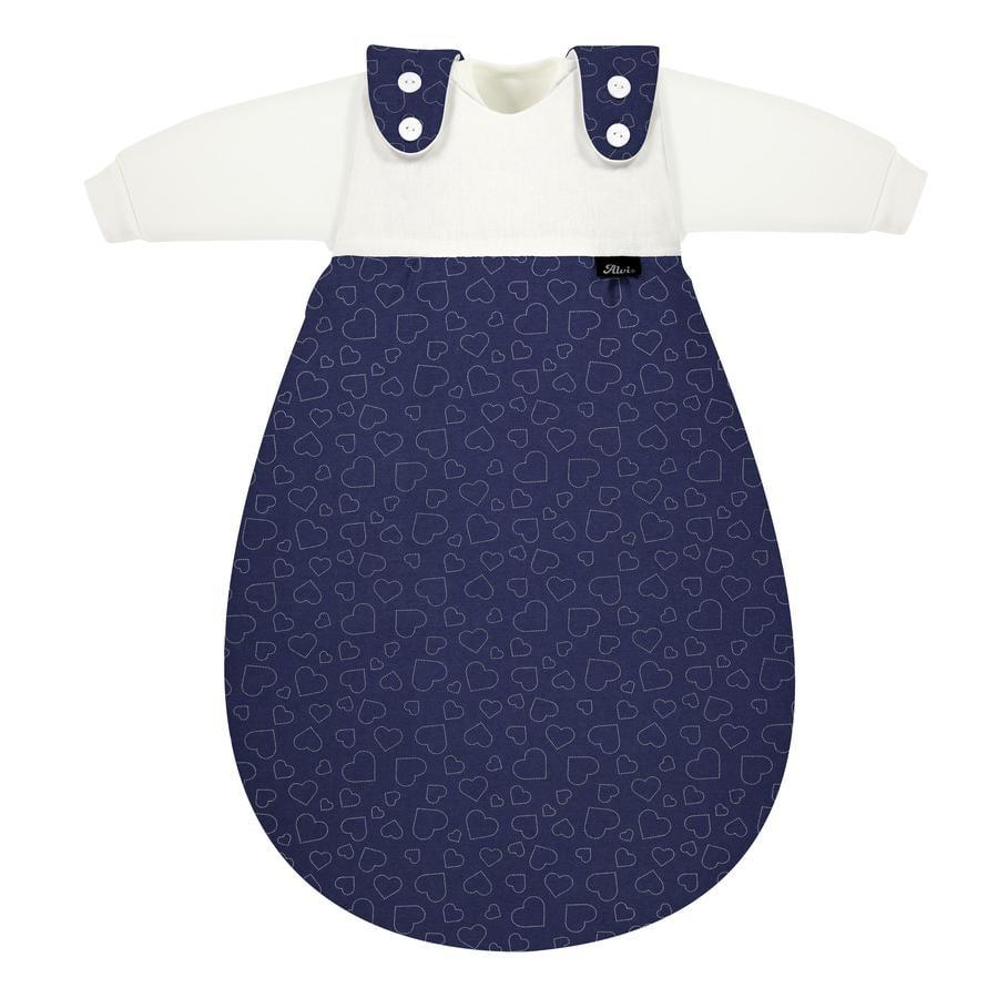 Alvi® Baby-Mäxchen® - das Original 3tlg.  Hearts Navy
