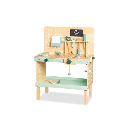 Pinolino Werkbank Jupp, beige/pastellgrün