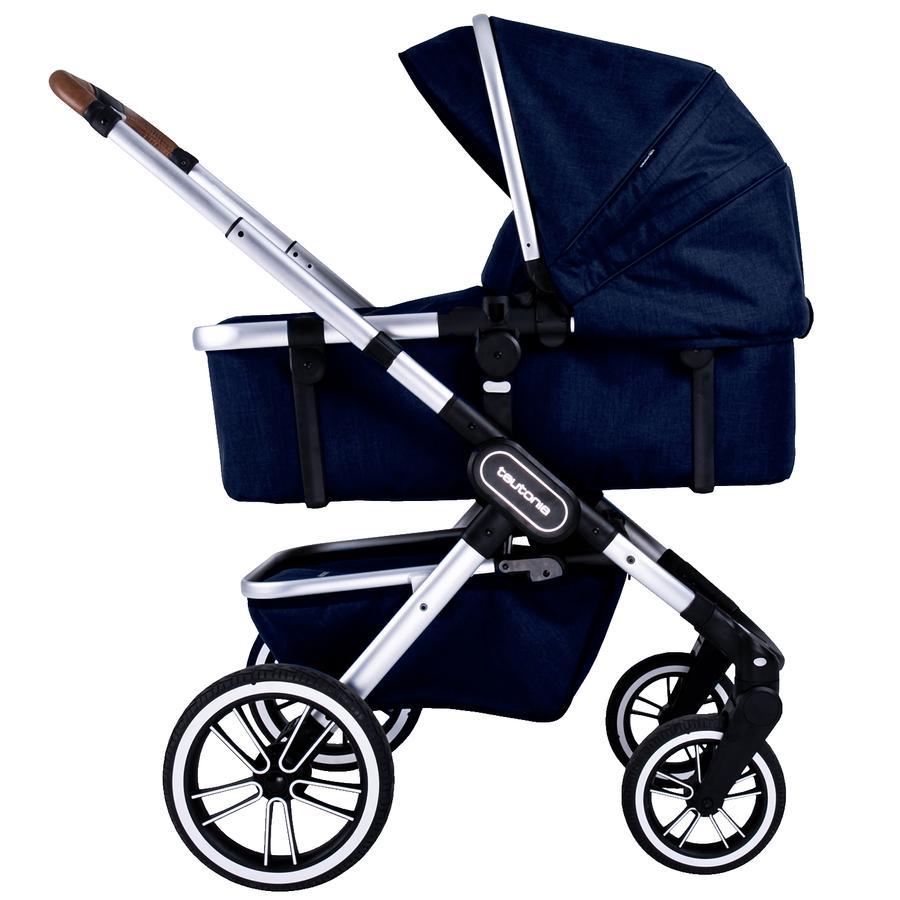 teutonia Carro de bebé combi TRIO 2.0  Melange Navy