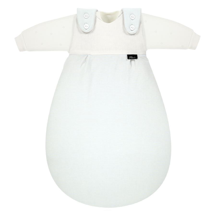 Alvi® Gigoteuse Baby-Mäxchen® édition SuperSoft bleu Stripe 3 pièces