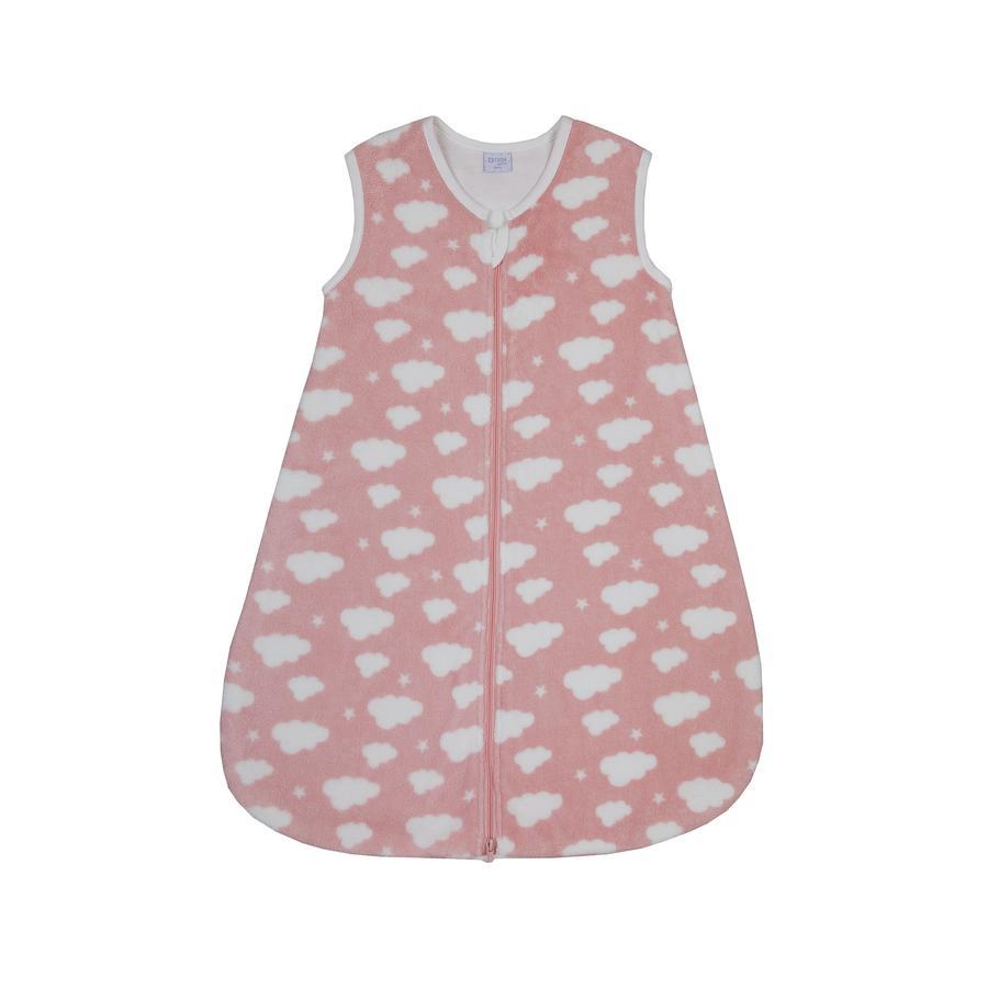 LITTLE Cloud & sovande Stars väska rosa