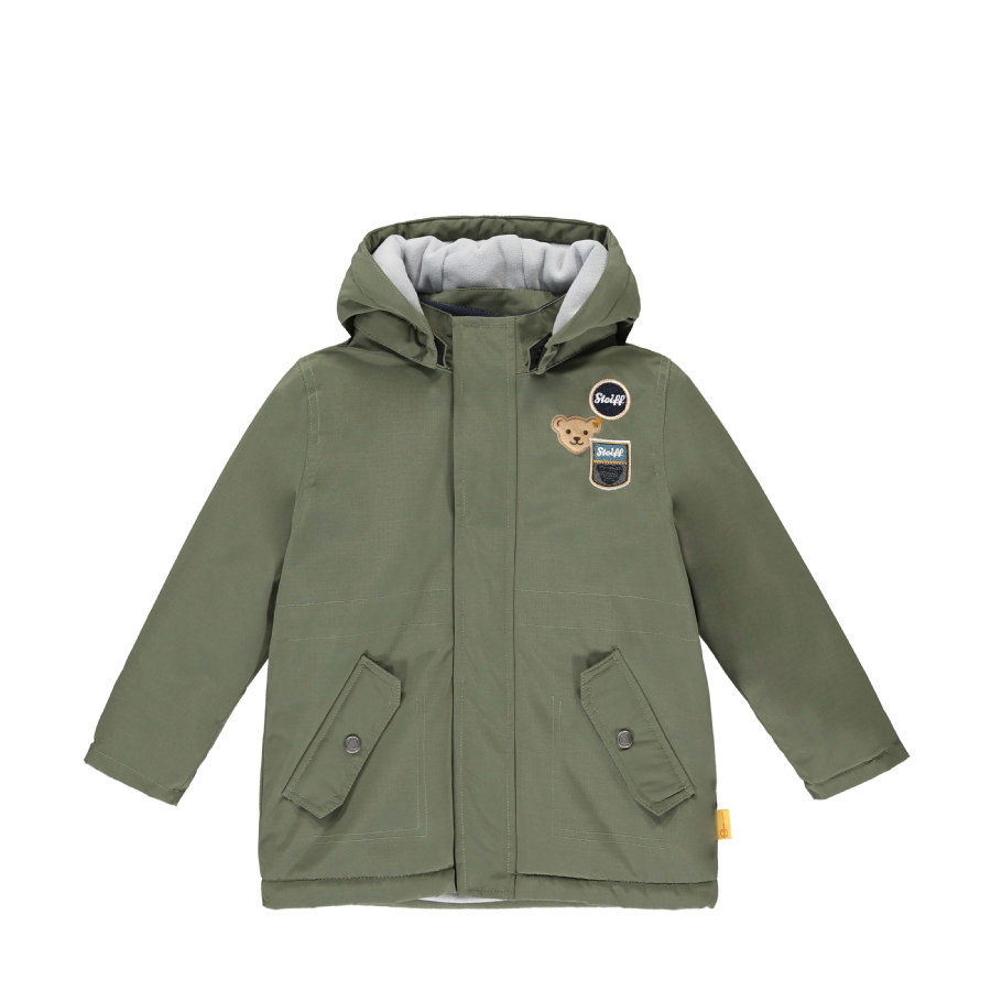 Steiff Boys Jacke, dusty olive