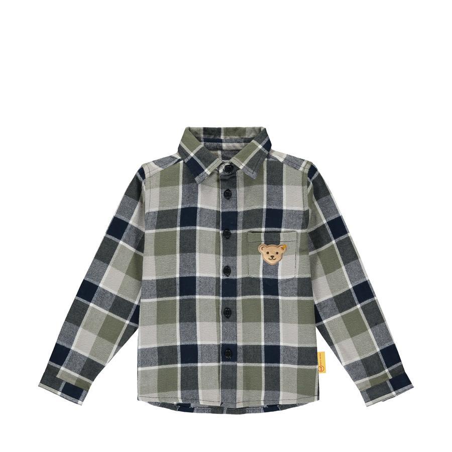 Steiff Camisa de manga larga, azul marino