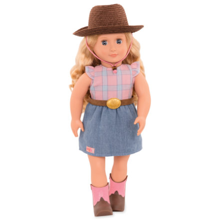 Our Generation - Puppe Lea Rose Cowgirl 46 cm