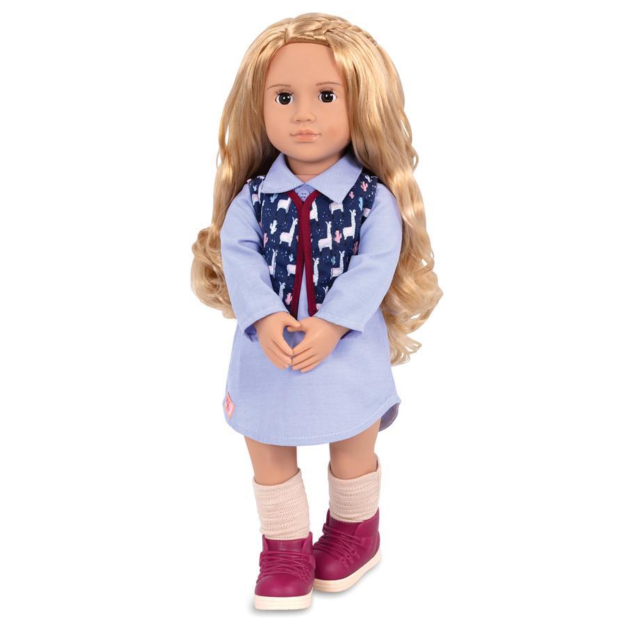 Our Generation -Puppe Amalia auf Reisen 46 cm