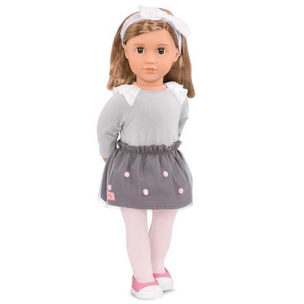 Our Generation  - Puppe Bina mit Mesh-Rock und Stirnband 46 cm