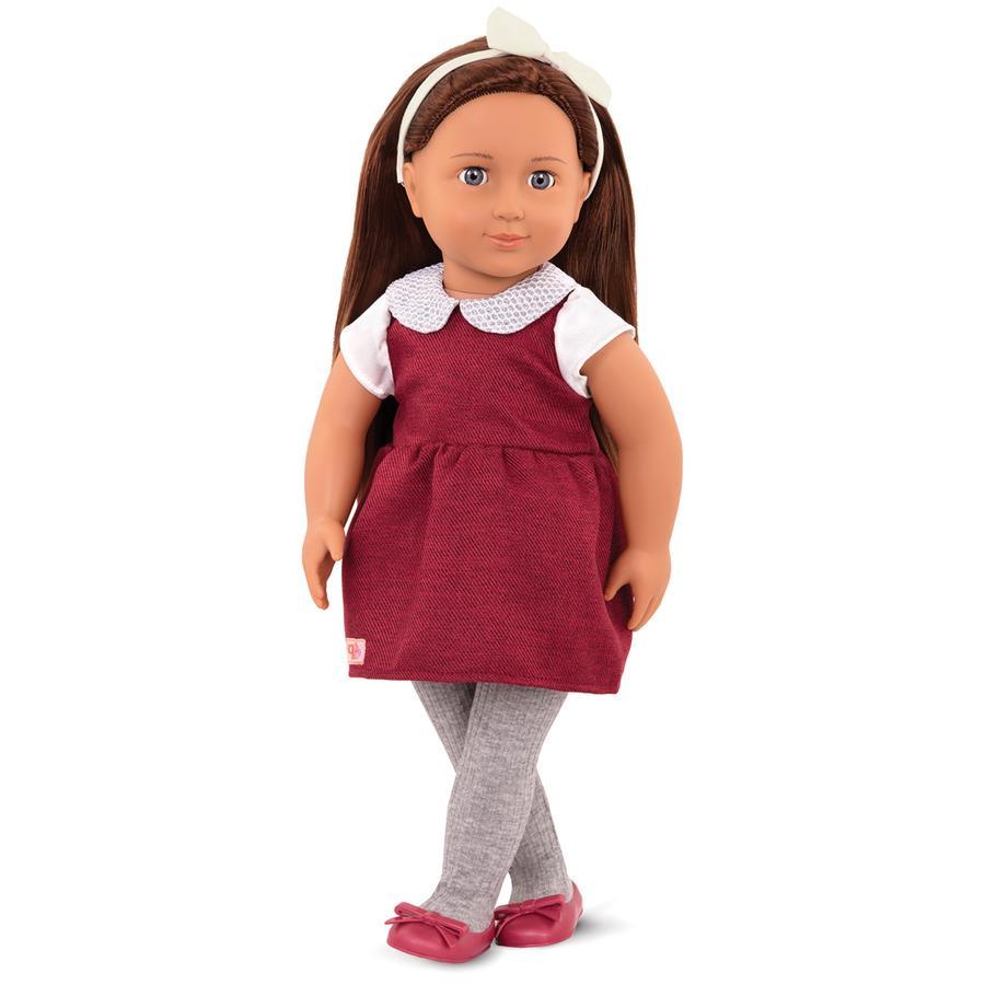 Muñeca OG Milana en vestido de sarga 46 cm