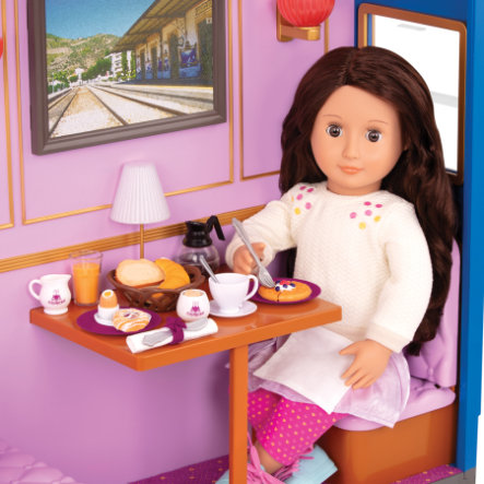 Our Generation příslušenství ke snídani