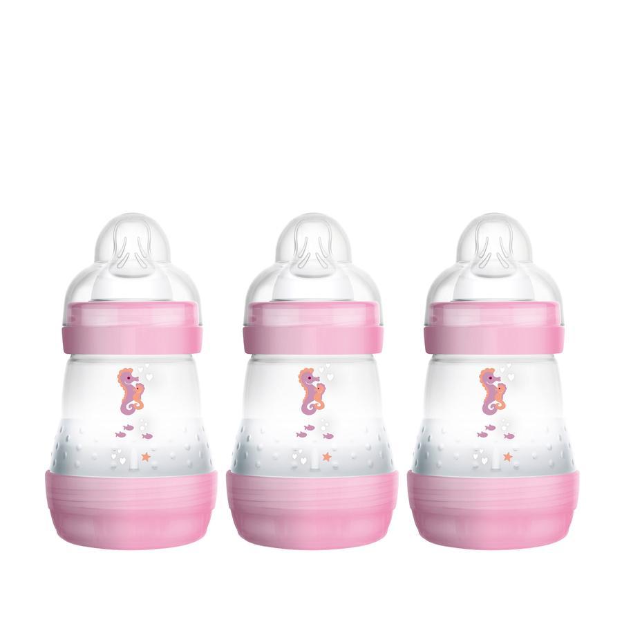 MAM Babyfles Easy Start Anti-Colic 160ml 3-pack meisje