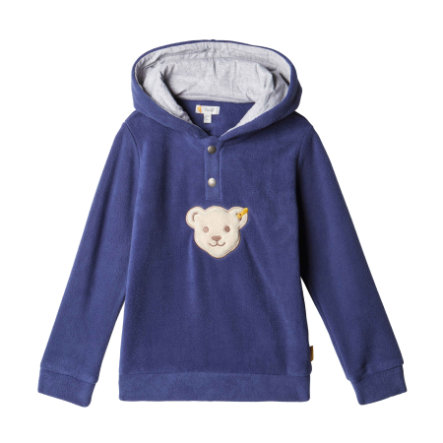 Steiff Boys Hooded Sweatshirt, patriot blauw