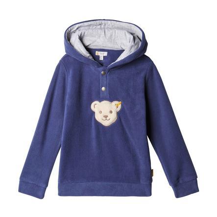 Steiff Boys Sweatshirt mit Kapuze, patriot blue