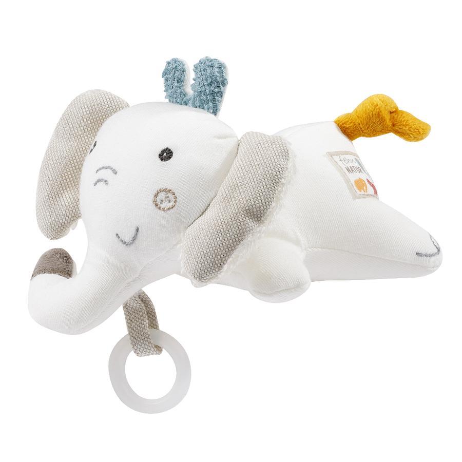 fehn® Schnullertier Elefant fehnNATUR