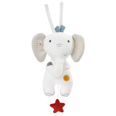 Babysun® Peluche musicale éléphant fehnNature
