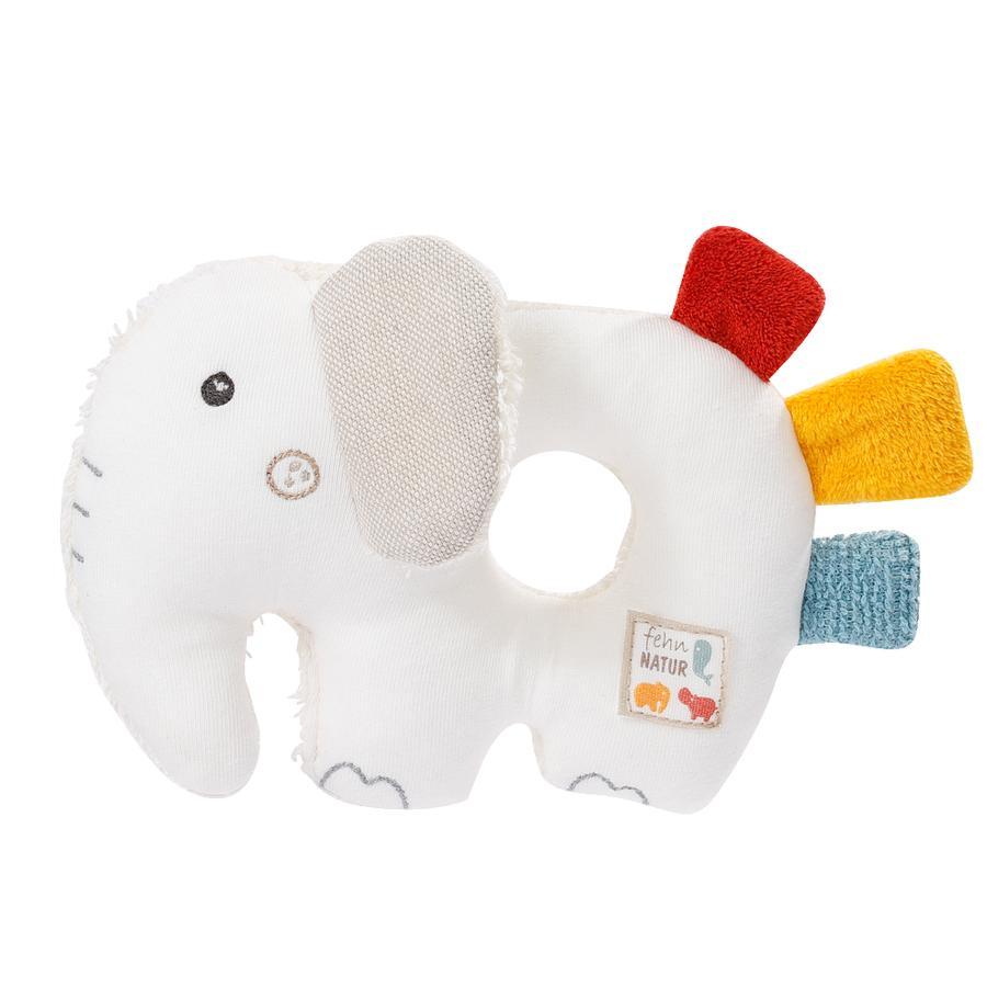 fehn® Ring-Greifling Elefant  fehnNATUR