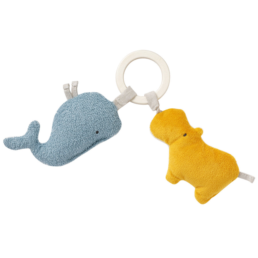 Babysun® Hochet hippopotame baleine fehnNature