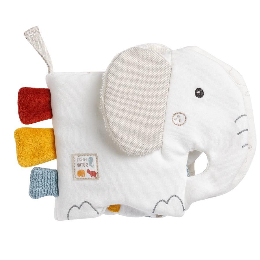 fehn® Stoffbuch Elefant  fehnNATUR