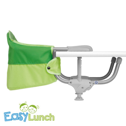 CHICCO Table Seat Easy Lunch GREEN JAM Collection 2015