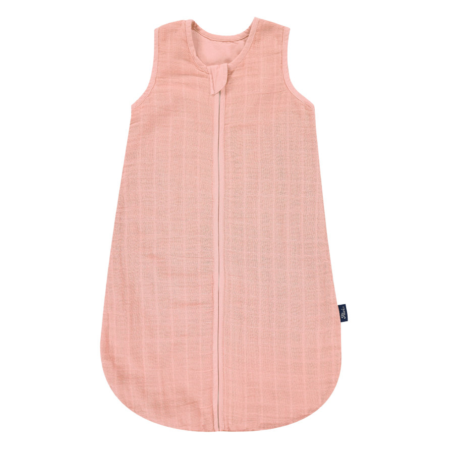 Alvi® Mullschlafsack uni pink
