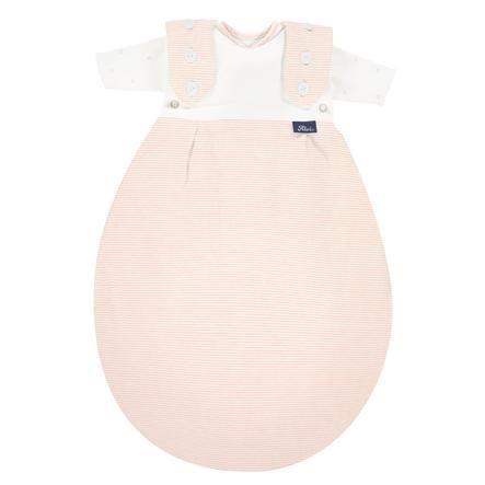 Alvi ® Baby-Maxchen® voortijdige slaapzak SuperSoft roos Stripe