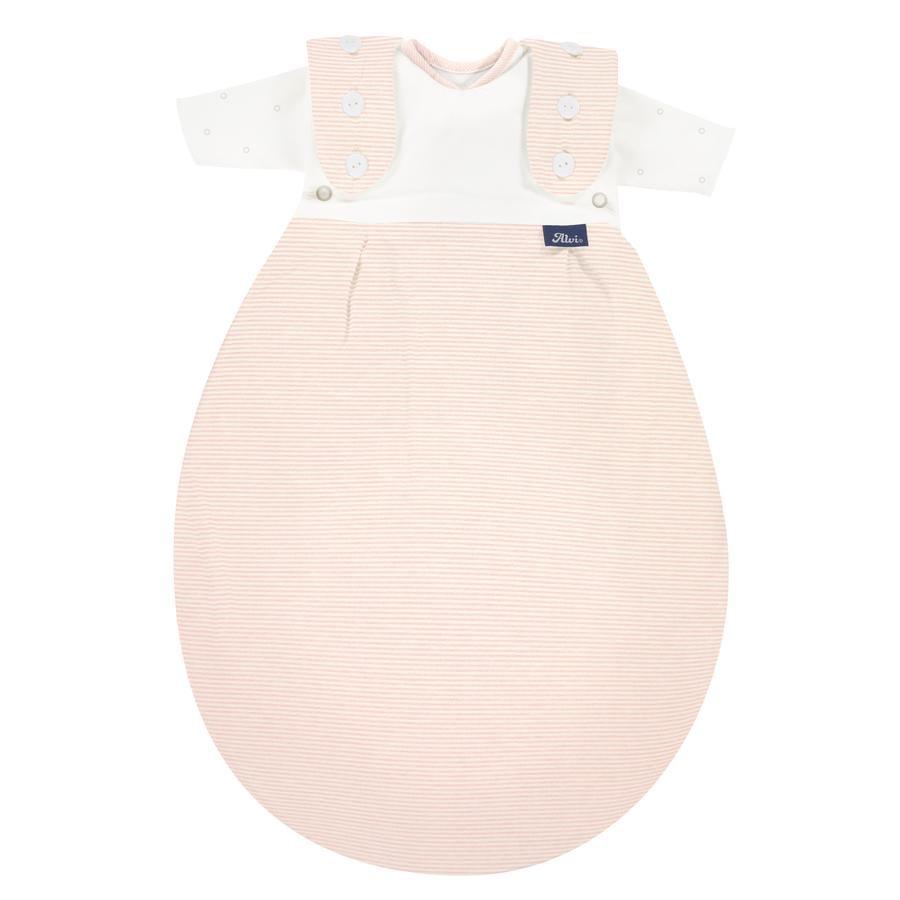 Alvi® Baby-Mäxchen® Frühchenschlafsack SuperSoft rose Stripe