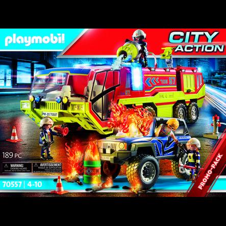 PLAYMOBIL® Feuerwehreinsatz mit Löschfahrzeug