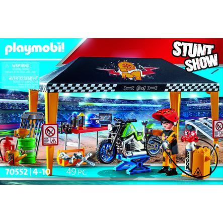 PLAYMOBIL® Stuntshow Werkstattzelt