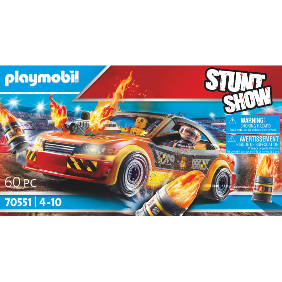PLAYMOBIL ® kraschbil med stunt-show