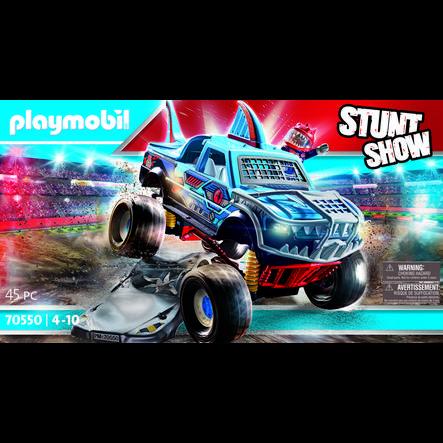 PLAYMOBIL  ® Monstruo del espectáculo de acrobacias Truck Tiburón