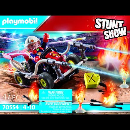 PLAYMOBIL® Stuntshow Feuerwehrkart