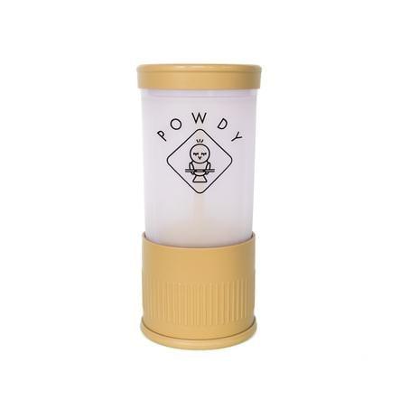 POWDY Skopor med mjölkpulver med utbytbara skär Gul