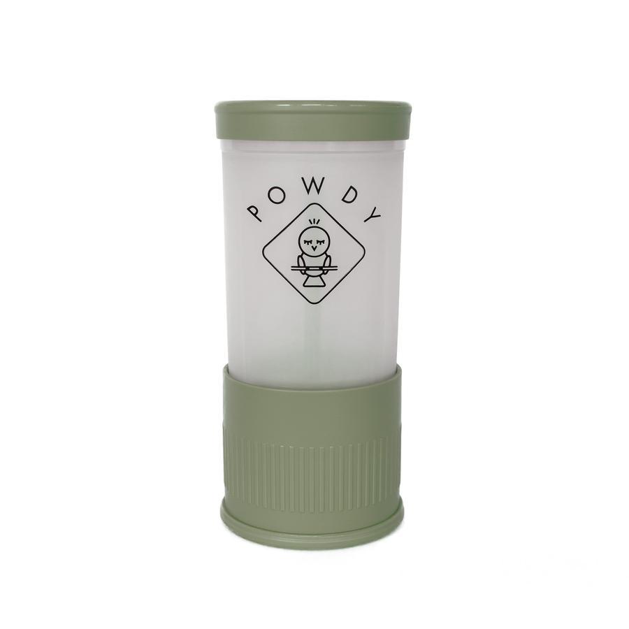 POWDY Mjölkspulver med utbytbara insatser Grön