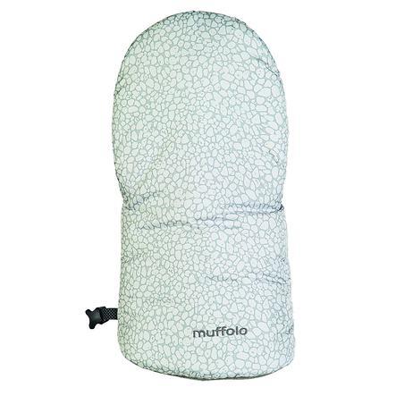 odenwälder Protège-mains moufles pour poussette Muffolo fashion pebbles steel