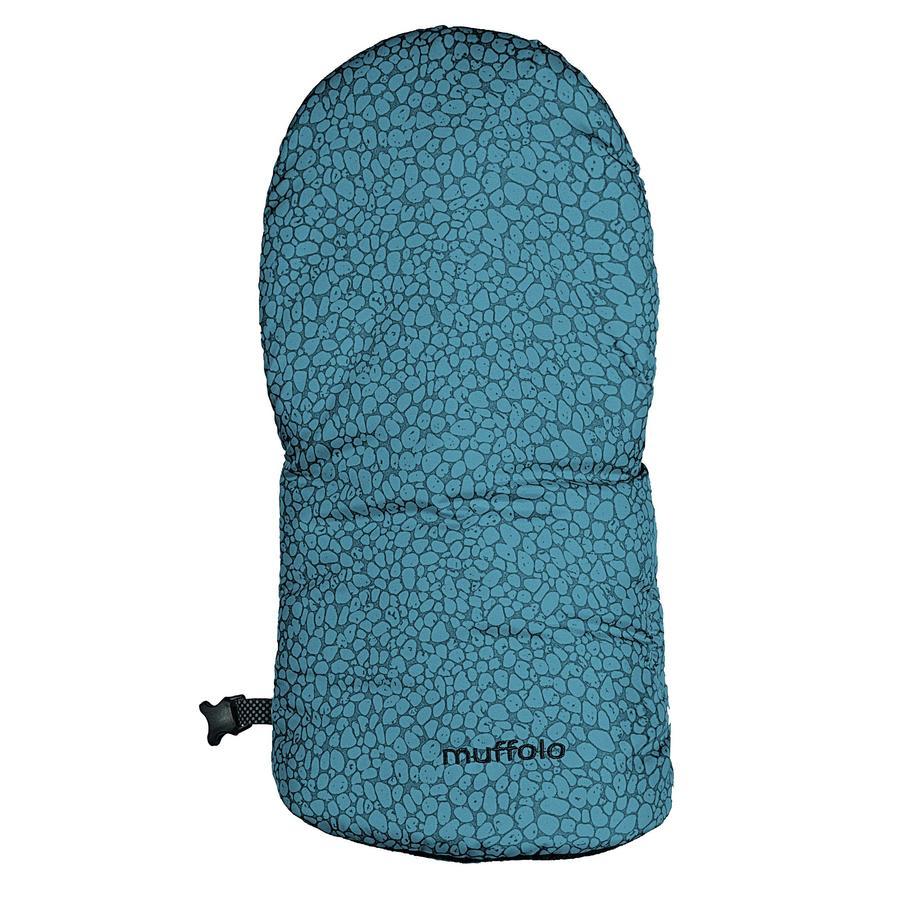 odenwälder Protège-mains moufles pour poussette Muffolo fashion pebbles denim
