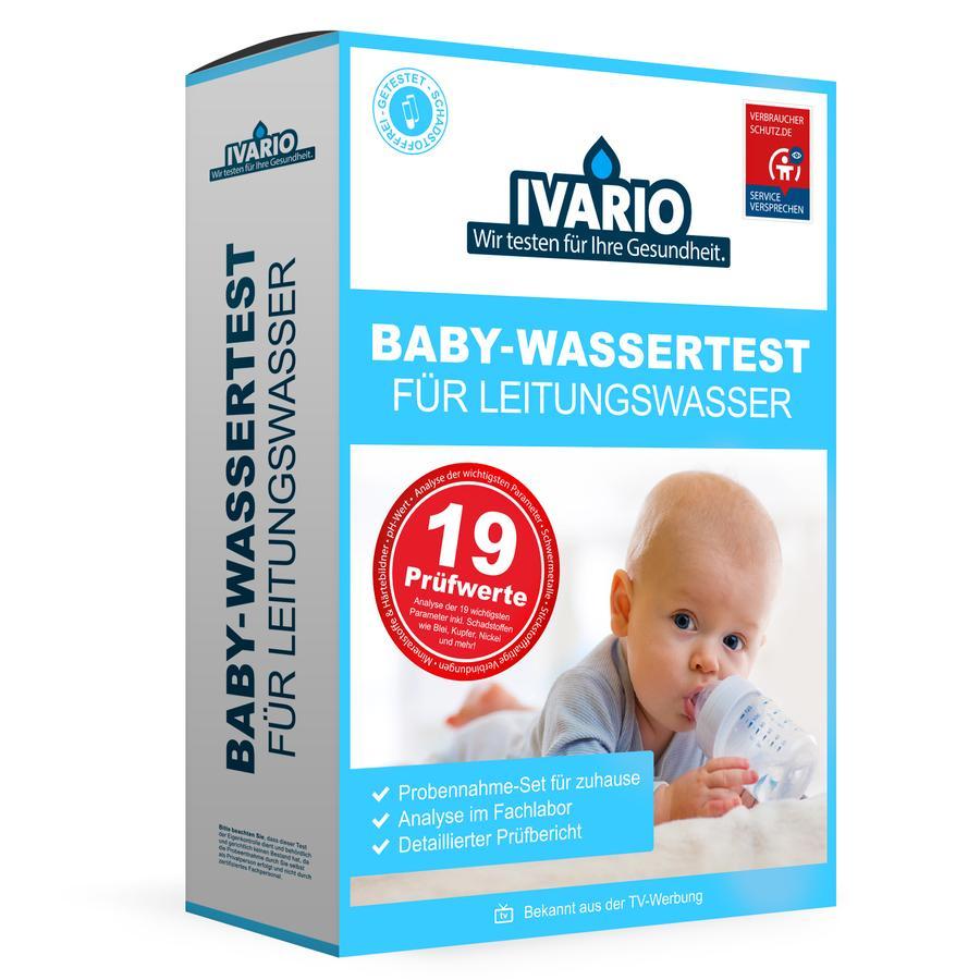 IVARIO Baby-Wassertest für Leitungswasser (19-in-1)