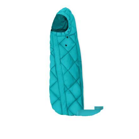 cybex GOLD Fußsack für Babyschalen Snogga Mini River Blue